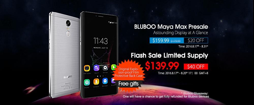Bluboo Maya presale