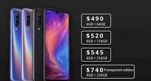 Xiaomi Mi 9 Smartphone