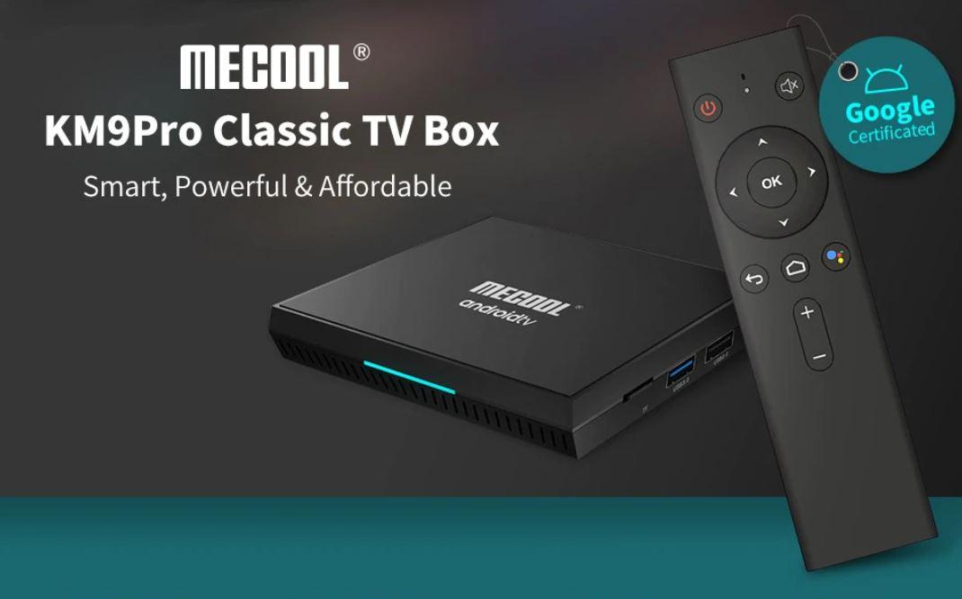 KM9 Pro Classic TV Box deal